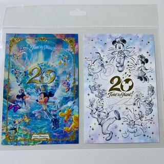 ミッキーマウス(ミッキーマウス)のディズニーシー20周年ポストカード(キャラクターグッズ)