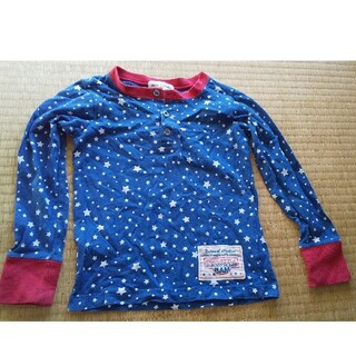 110 長袖 星(Tシャツ/カットソー)
