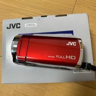 Victor - 【新品・未使用】ビデオカメラ JVC エブリオ GZ-HM 177 レッド