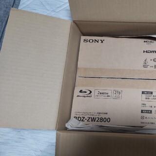 SONY - SONYブルーレイレコーダーbdz-zw2800[2TB]9月26日着未使用品