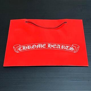 クロムハーツ(Chrome Hearts)のCHROME HEARTS ショッパー 赤 限定色(ショップ袋)