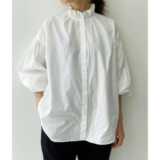 L'Appartement DEUXIEME CLASSE - L'Appartement Stand Frill Blouse フリルブラウス