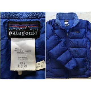 パタゴニア(patagonia)のパタゴニア ダウンジャケット ジャケット KIDS L(ジャケット/上着)
