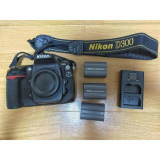 Nikon - Nikon D300 バッテリー3個付き