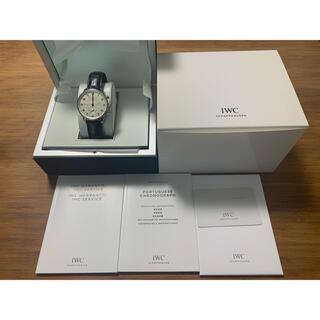 インターナショナルウォッチカンパニー(IWC)のIWC ポルトギーゼ 371446 正規店購入品 青針(腕時計(アナログ))