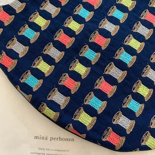 ミナペルホネン(mina perhonen)のミナペルホネン エッグバッグ ♡bobbin(トートバッグ)