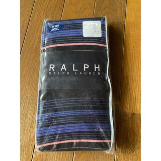 ラルフローレン(Ralph Lauren)のラルフローレン ボーダータイツ M-L ナイガイ(タイツ/ストッキング)