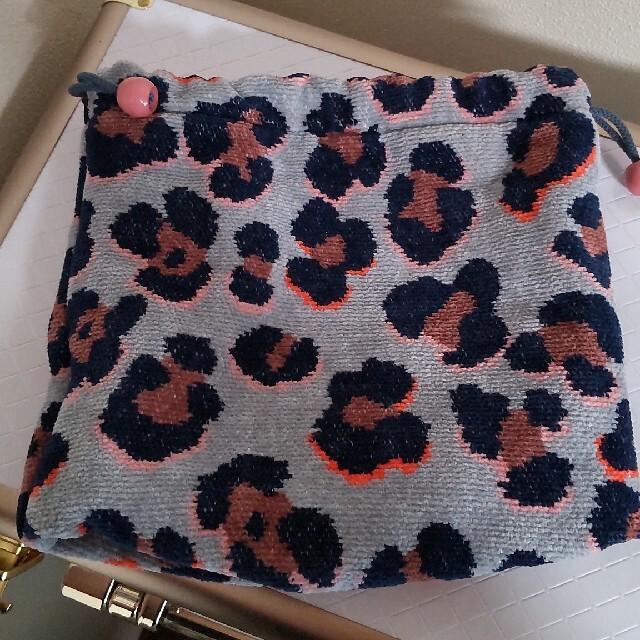 FEILER(フェイラー)のフェイラー レオパード 巾着 レディースのファッション小物(ポーチ)の商品写真