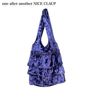 ワンアフターアナザーナイスクラップ(one after another NICE CLAUP)の【one after another NICE CLAUP】ベロアトートバッグ (トートバッグ)