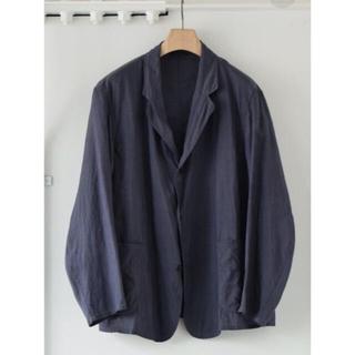 COMOLI - COMOLI   コットンシルク ジャケット サイズ1 NAVY