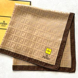 FENDI - フェンディ★シルク混スカーフ ③ ★新品未使用★