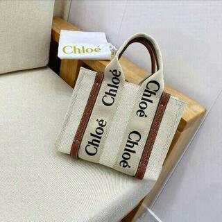 Chloe - Chloe クロエ woody スモール クロエトートバッグ