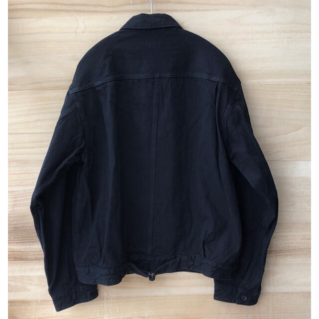 COMOLI(コモリ)の20AW comoli デニムジャケット ブラック コモリ メンズのジャケット/アウター(Gジャン/デニムジャケット)の商品写真