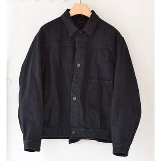 COMOLI - 20AW comoli デニムジャケット ブラック コモリ