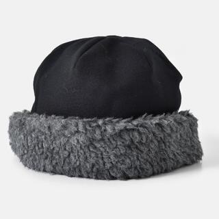 mature ha. ボアフードキャップ hood cap*マチュアーハ(ハンチング/ベレー帽)