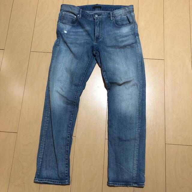UNIQLO(ユニクロ)のユニクロ デニム ジーンズ ウエスト84cm メンズのパンツ(デニム/ジーンズ)の商品写真