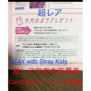 ショウガクカン(小学館)の激レア  STAY with Stray Kidsさんサイン入りポラ応募券(K-POP/アジア)