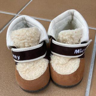 ミッキーマウス(ミッキーマウス)のミッキーマウス キッズブーツ 15cm(ブーツ)