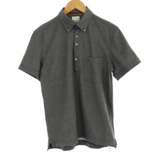 ポールスミス(Paul Smith)のポールスミス POLO SHIRT ポロシャツ ボタンダウン 半袖 M グレー(ポロシャツ)