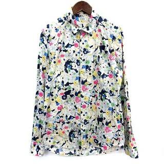 ケンゾー(KENZO)のケンゾー KENZO SLIM FIT シャツ 総柄 長袖 40 マルチカラー(シャツ)