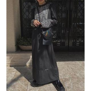 Ameri VINTAGE - ELFIN EMBROIDERY CAFTAN DRESS Ameri