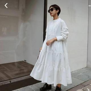 DEUXIEME CLASSE - machatt タキシードシャツドレス ワンピース ホワイト