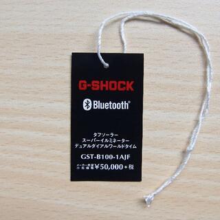G-SHOCK - 【送料無料】タグ タフネスクロノグラフ GST-B100-1AJF