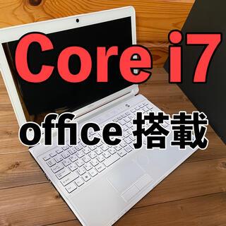 フジツウ(富士通)の富士通 ノートパソコン Core i7(ノートPC)