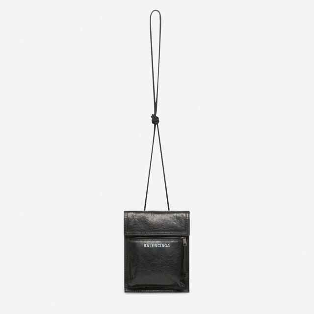 Balenciaga(バレンシアガ)の新品 BALENCIAGA バレンシアガ ストラップ付 スモール ポーチ 鞄 メンズのバッグ(ショルダーバッグ)の商品写真