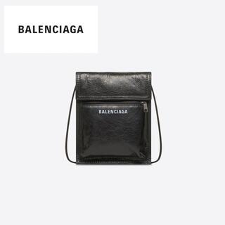 Balenciaga - 新品 BALENCIAGA バレンシアガ ストラップ付 スモール ポーチ 鞄