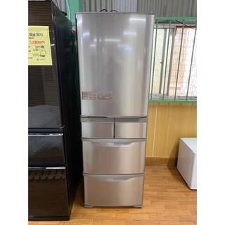 ヒタチ(日立)の(洗浄・検査済み)HITACHI 冷蔵庫 401L 2017年製(冷蔵庫)