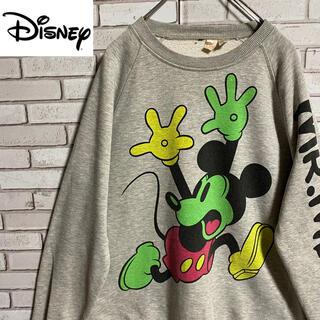Disney - 90s 古着 ディズニー  L バックプリント  ビッグシルエット ゆるだぼ