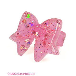 Angelic Pretty - angelic pretty  きらめき リボン リング ピンク