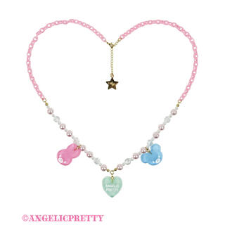 Angelic Pretty - angelic pretty  Happy Garlandネックレス ピンク