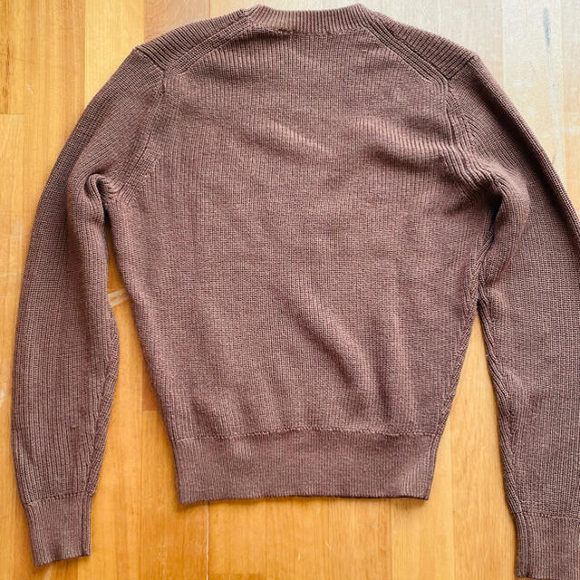 UNIQLO(ユニクロ)のUNIQLO U ユニクロユー ニット ブラウン M メンズのトップス(ニット/セーター)の商品写真