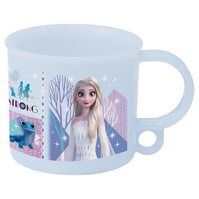 Disney(ディズニー)のアナと雪の女王2(21)抗菌食洗機対応 プラコップ インテリア/住まい/日用品のキッチン/食器(弁当用品)の商品写真