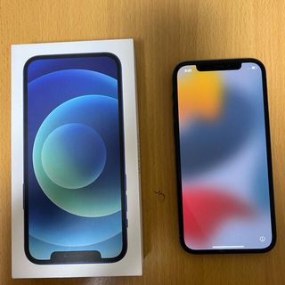 Apple - iPhone 12 ブルー 128GB