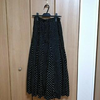 IENA - ne Quittez pas/別注ドットスカート