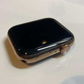 Apple Watch - アップルウォッチ4 ゴールドステンレス44mミラネーゼループ