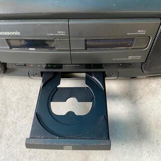 パナソニック(Panasonic)の【ジャンク品】パナソニックCDラジカセ RXーDT77 オーディオ レトロ(その他)