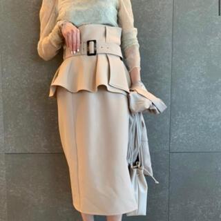 snidel - コルセットベルトタイトスカート スナイデル 0サイズ