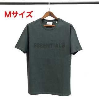 フィアオブゴッド(FEAR OF GOD)のessentials ロゴ Tシャツ ブラック Mサイズ FOG(Tシャツ/カットソー(半袖/袖なし))