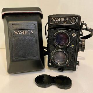 YASHICA ヤシカ Mat-124G 二眼レフカメラ 専用ケース付き