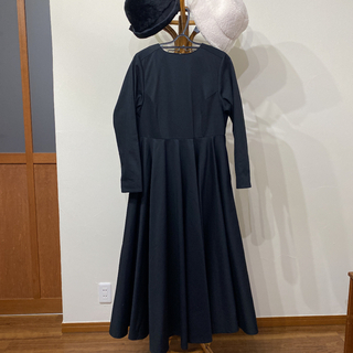 ヤエカ(YAECA)のfoufou the dress 10 Mサイズ ランデブーワンピース(ロングワンピース/マキシワンピース)