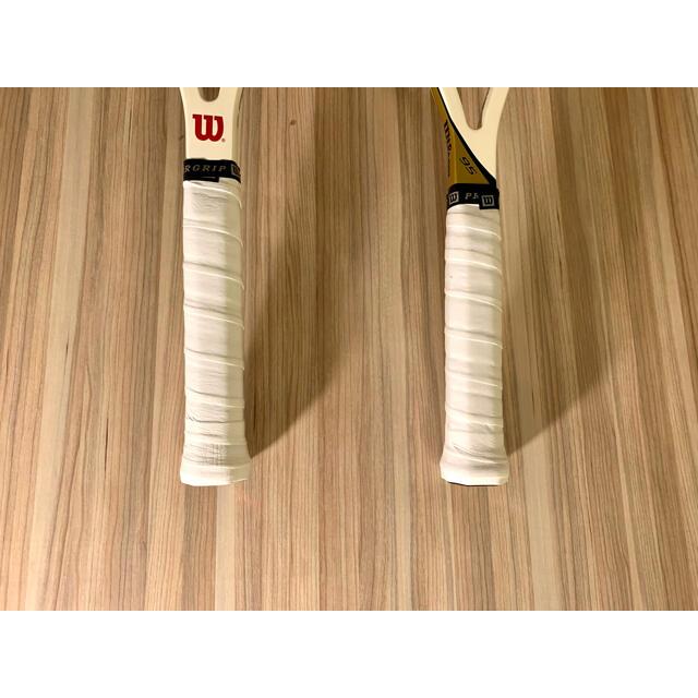 wilson(ウィルソン)のWilsonラケット2本 ☆ Dunlopのテニスバックもおまけ ☆ スポーツ/アウトドアのテニス(ラケット)の商品写真