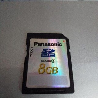 Panasonic - パナソニック SDカード8GB