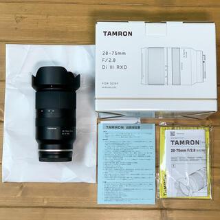 TAMRON - 【美品】タムロン 28-75mm F/2.8 Di III RXD sony用