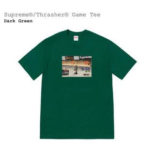 Supreme - Supreme®/Thrasher® Game Tee Dark Green