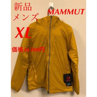 Mammut - 新品 マムート メンズ 中綿 ライムインフレックスフーディ