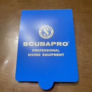 スキューバプロ(SCUBAPRO)のダイビング水中ノート(マリン/スイミング)
